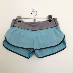 Lululemon Blue Speed Short Size 6